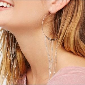 {free people} Smokeshow Threader earrings